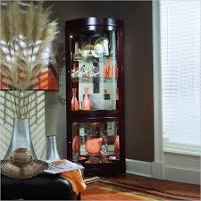 Modern Corner Curio Cabinet Cabinet Wonderful Corner Curio Cabinet Design Pulaski Corner
