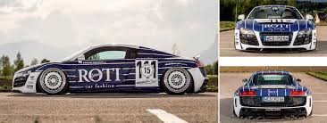 Audi R8 Build - four of the world's toughest modified audi r8 typ 42 drive my
