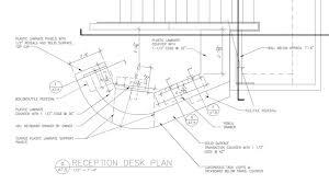 home design trendy reception desk dimensions standards