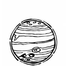 drawing planet jupiter printable template 2 pics