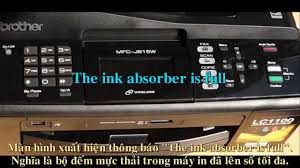 brother printer mfc j220 resetter reset ink absorber is full brother mfc j615w youtube