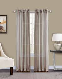 percy semi sheer stripe curtain panel curtainworks com