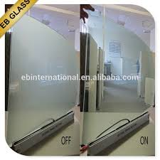 Smart Glass Shower Door Clear Smart Glass Shower Door High Quality Switchable