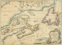 Map Of England And France by Nova Scotia Archives Historical Maps Of Nova Scotia