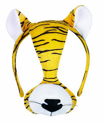 tiger headband small world toys furree faces tiger mask w sound