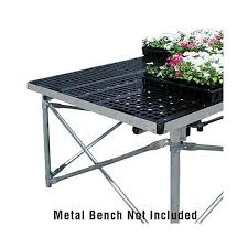 Metal Greenhouse Benches Dura Bench Original Greenhouse Bench Tops Structures And Cold Frames