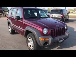 jeep liberty 2003 4x4 2003 jeep liberty 4x4 sport sport 4wd 2nd bench cd player 1 owner