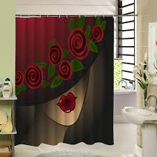 bathroom designs bathroom with shower curtains ideas modern new full size of shower curtains bathroom curtain waterproof bright red lips temptation beautiful rose petals acceptable