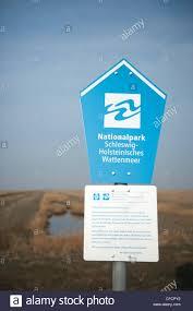 unesco si e sign of the national park german wadden sea also a unesco