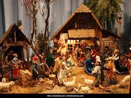 Home Interiors Nativity Set Nativity Scene Wallpaper For Free Download