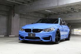 Bmw M3 Blue - 3d design tweaks blue bmw f80 m3 gtspirit