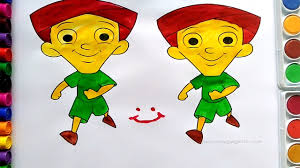 dholu bholu coloring pages u2013 bholu bholu colouring children