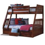 Bunk Bed With Desk And Drawers Bunkbeds With Desk