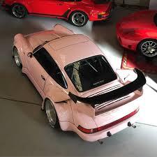 rwb porsche logo rwb building a porsche 911 tribute to 917 20 pink pig racecar in