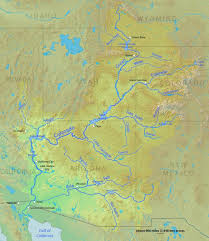 colorado river map citizens of a watershed the colorado river compact and the