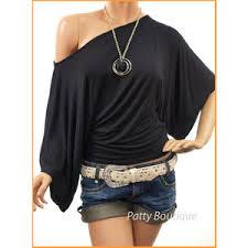 the shoulder black blouse kimono sleeve one shoulder top black polyvore