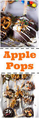 halloween candy apple pops and the kitchen