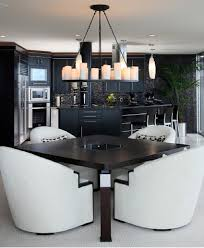modern black and white kitchen 10 modern black and white dining room sets that will inspire you