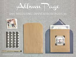 Diy Wedding Photo Album Vintage Photo Album Inspired Diy Wedding Invitation