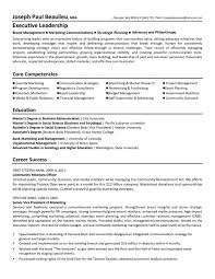how to write executive resume non profit resume sainde org non profit resume