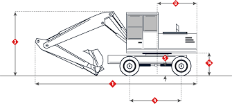 komatsu pw100 3 specifications wheeled excavator