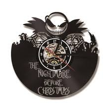 The Nightmare Before Christmas Home Decor Popular Nightmare Before Christmas Vinyl Clock Buy Cheap Nightmare