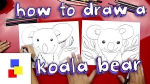 how to draw a koala bear youtube