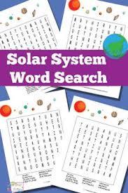 free printable solar system flashcards flashcard solar system