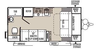 Rockwood Travel Trailer Floor Plans Full Specs For 2016 Forest River Rockwood Mini Lite 1905 Rvs