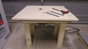 how to build router table for less then 10 youtube