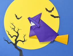 origami halloween origami witch