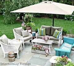 Backyard Umbrellas Cantilever Patio Umbrellas Foter