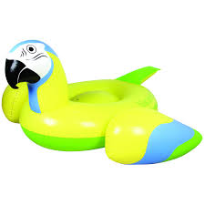 margaritaville cartoon margaritaville parrot float lounger yellow