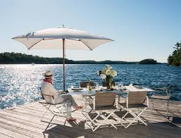 Dedon Patio Furniture by 10 Garden Sunshades With Style Parasol By Dedon Dedon