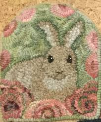 Wool Rug Hooking Supplies Spring Love By Lin Wells Pattern Only Or Complete Rug Hooking