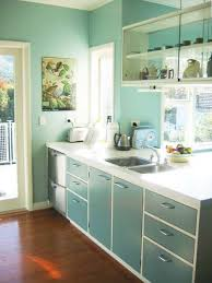 50s kitchen ideas 50 s retro kitchen cabinet colour with white base my villages