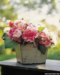 Two Peas In A Pod Centerpieces by Spring Flower Arrangements Martha Stewart