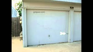 Security Garage Door by Wood Garage Door Tips Handles Locks And Security Youtube