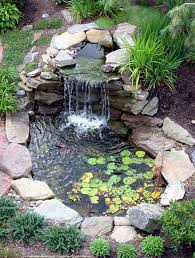 awesome small backyard waterfall garden https gardenmagz com
