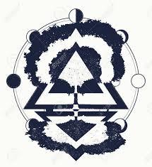 magic tree of life tattoo art symbol of life and death symbols