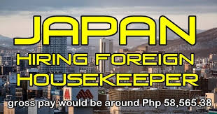 hiring a housekeeper japan to hire foreign housekeepers ofw tambayan