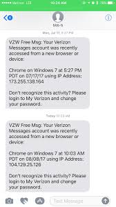 Verizon Coverage Map Utah by Help Have I Been Hacked Received This Message Today And Then