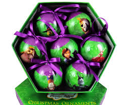 legends of oz ornament 7 ornament set
