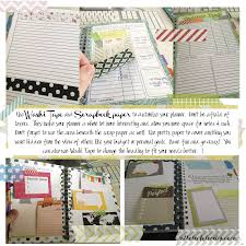 mormon mom planners monthly planner weekly planner using washi
