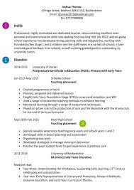 teacher cv examples templates and guidance how to write a cv