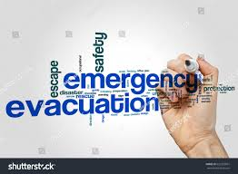 Fire Evacuation Plan Office by Emergency Evacuation Word Cloud Concept On Stock Photo 622355861