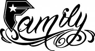 and straps family vinyl sticker decal