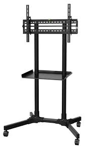 Tv Stands For Flat Screen Tvs Flat Screen Tv Cart Top 7 Advanced Portable Rolling Tv Stands