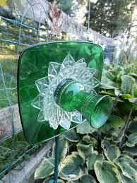 Glass Garden Decor 421 Best Garden Glass Images On Pinterest Garden Ideas Glass