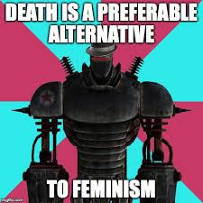 Liberty Prime Meme - anti feminst liberty prime imgflip